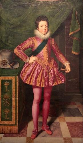 Caroline de Kergariou, Louis XIII, Marie de Médicis, Galigaï, Concini, Luynes