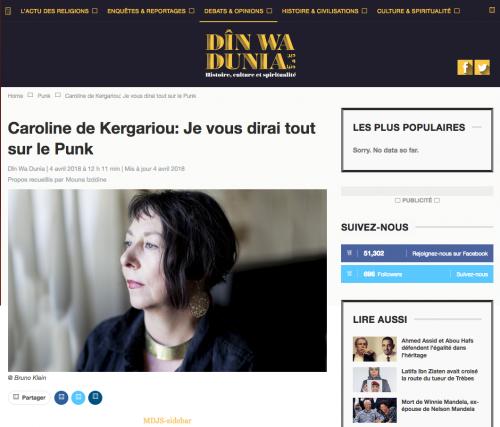 punk, Kergariou, Casablanca, Institut Français