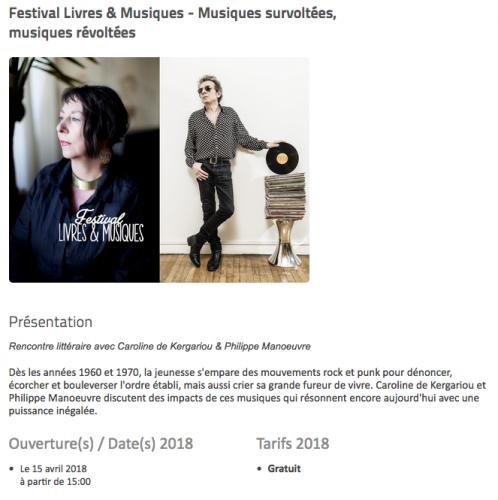 punk, Deauville, Philippe Manoeuvre