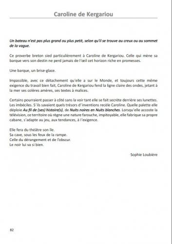 SACD, prix radio, Sophie Loubière, Au Fil de l'Histoire, France Inter