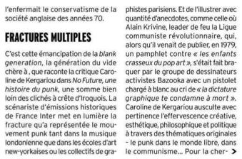 Marianne, Myriam Perfetti, Caroline de Kergariou, punk, no future, éditions Perrin