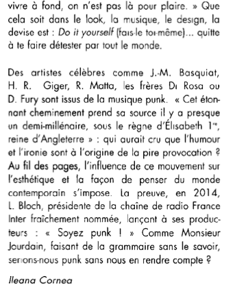 Artension,punk, Perrin, Caroline de Kergariou,Ileana Cornea, art
