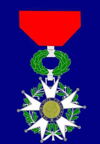 légion d'honneur, héros national