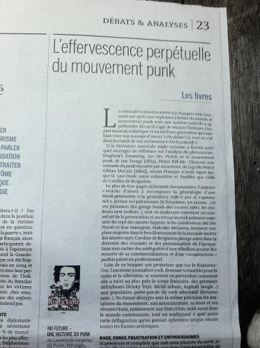 No Future, Kergariou, Le Monde
